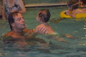 Watergewenning kind en ouder